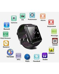 Jiyanshi Smart watch/Bluetooth Supported Watch for Samsung Smart Phones