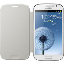 Samsung Flip Cover   Samsung Galaxy Grand Duos White