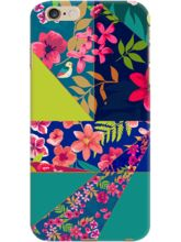 DailyObjects Tropical Floral Angles Case For IPhon...