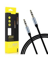 Remax 2 Meter 3.5Mm Aux Rm-L100 Male To Male Stereo Audio Cable