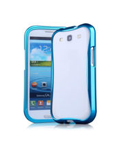 Callmate Cleave Aluminum Bumper Cover For Samsung Galaxy S4/i9500, Sky Blue