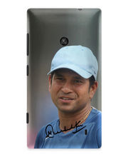 IAccy Sachin Signature-03 Glossy Finish Cover For Nokia Lumia 520, Multicolor