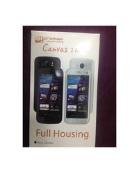 Deal Best Replacement Full Body Housing Wid Middle For Micromax Canvas 2 A110,  black