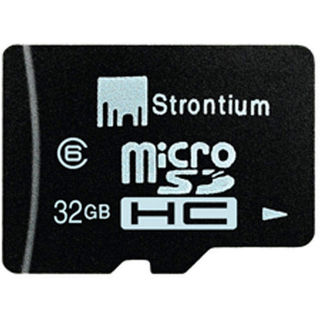 32GB Strontium MicroSD Card at 44% Discount – Buy for Rs. 899