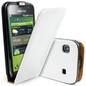 iAccy - SAMSUNG GALAXY S I9000 FLIPCOVER,  white