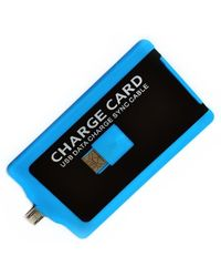 Smiledrive Credit Card Shaped USB Charger,  blue