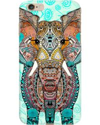 DailyObjects Boho Summer Elephant Blue Case For iPhone 6 Plus