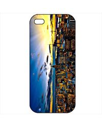 Snoogg Mobile Case Print Design - Lost in Beauty For Apple iPhone 4 & 4G, multicolor