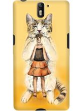 DailyObjects Big Cat Case For OnePlus One
