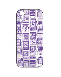 Snoogg Mobile Case Print Design - Video Gamer'S Dream For Apple iPhone5 & 5S, multicolor