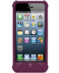 Amzer 94533 Silicone Skin Jelly Case - Purple - iPhone 5, standard-purple