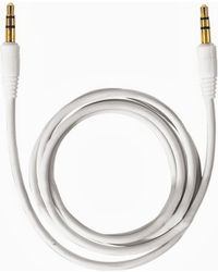 Callone Aux To Aux Aux Cable 1M,  white