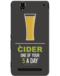DailyObjects Cider Case For Sony Xperia T2 Ultra