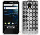 Amzer Luxe Argyle High Gloss TPU Soft Gel Skin Case - LG Optimus 2X P990
