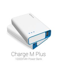 Portronics 10000mAh Charge M Plus Power Bank with LG Cells (Black),  white