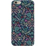 DailyObjects Coloured Chalk Floral Doodle Pattern Case For iPhone 6 Plus