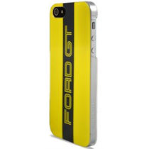 Ford GT Glossy Hard Case Red+ Screen protector for iPhone 5/5S,  yellow