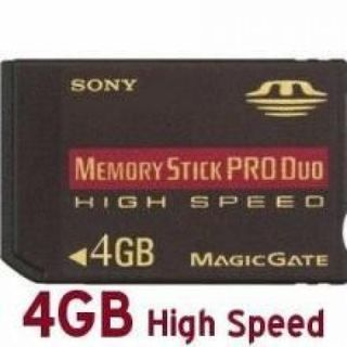 Sony PRO-HG Duo HX 4 GB Memory Card