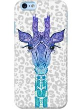 DailyObjects Giraffe On Leo Print Case For IPhone ...