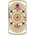 DailyObjects Cowboy Mustache Mexico Mandala Case For Motorola Moto G2