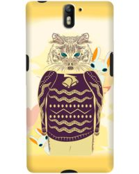 DailyObjects Cat And Rabbits Case For OnePlus One