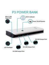 Callmate 16800 mAh P3 Power Bank (with 3 USB Ports)