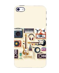 Flashmob Designer Back Cover for Apple iPhone 5, 5S (3D-iPhone5-D949)