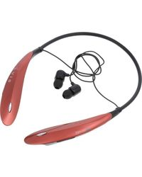 Evis ESH-11 Over and In Wireless Bluetooth Stereo Headset,  red