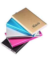 Reliable Power Bank RBL1 Metal Tube 6000mAh, multicolor