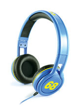 CLiPtec BMH836BL Urban Jockey - Multimedia Stereo Headset, blue