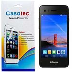Casotec Tempered Glass Screen Protector for InFocus M2, clear