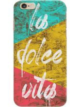 DailyObjects La Dolce Vita Case For IPhone 6 Plus