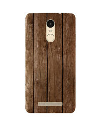 Casotec Wood Design Hard Back Case Cover for Xiaomi Redmi Note 3