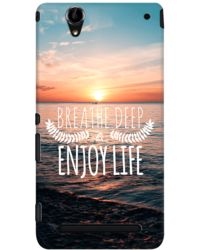 DailyObjects Breath Deep Case For Sony Xperia T2 Ultra
