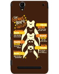 DailyObjects Coolestbear Case For Sony Xperia T2 Ultra