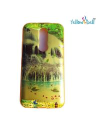 Yellow Bell Glossy Finish Printed Stylish Back Cover