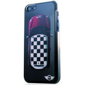 Mini Rooftop Chequered Pattern Hard Case for iPhone 5/5S,  black