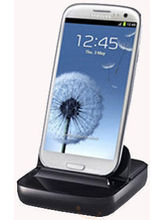 Samsung Desktop Dock For Galaxy S3 (Black)