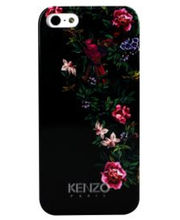 Kenzo Flagship Exotic Pattern - Red Hard Case For IPhone 5/5S, Black