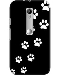 DailyObjects Cats Paws Black Case For Motorola Moto G3