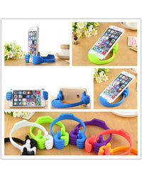 Novel Assorted Color Ok Stand Thumbs Up Mobile Stand