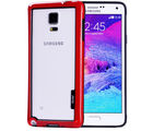 Callmate Bumper for Samsung Galaxy Note 4, red