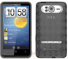 Amzer Luxe Argyle TPU Case Smoke Grey for HTC HD7
