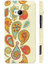 Enthopia Back Case for HTC One Case, multicolor