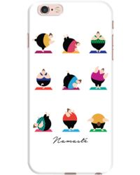 DailyObjects Bright Namaste Case For iPhone 6s Plus
