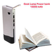 APG Power Bank Desk Lamp 15000 mAh,  black