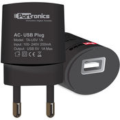 Portronics USB 1A AC Adapter