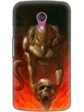 DailyObjects Skull Demon Case For Motorola Moto G2...