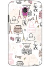 DailyObjects Paris Travels Case For Motorola Moto ...