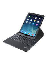 Promate 360 Degree Rotatable Protective Leather Case with Detachable Bluetooth Keyboard for iPad Air